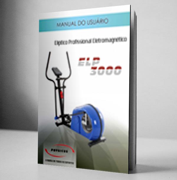 Manual Elíptico Profissional Eletromagnético