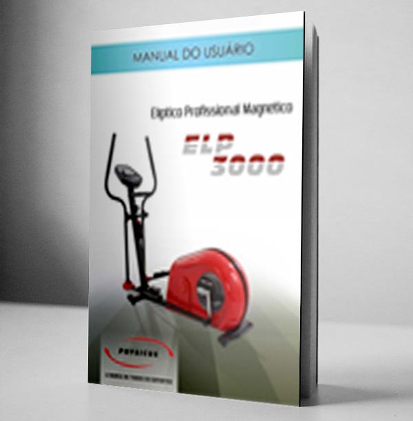 Manual Elíptico Profissional Magnético
