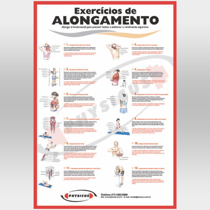 Cartaz de Alongamento