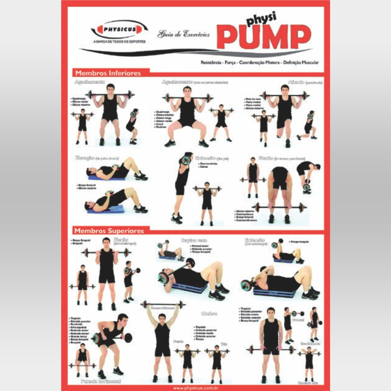 Cartaz de Physi Pump