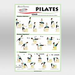 Cartaz de Pilates - Chair
