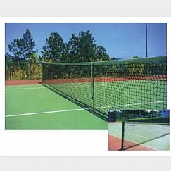 Rede N. Tênis Oficial - saque duplo - 1 lona de algodão