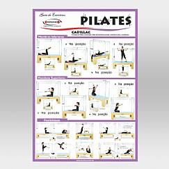 Cartaz de Pilates - Cadillac