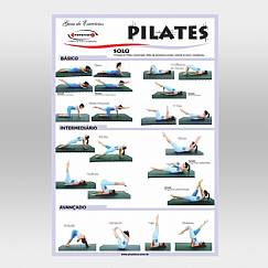 Cartaz de Pilates - Solo