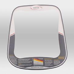Adesivo Central do Painel Bike VerticalHorizontal Magnética e Elíptico Eletromagnético Profissional
